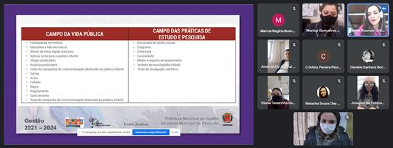 Assessoramentos de Língua Portuguesa e Matemática para unidades escolares