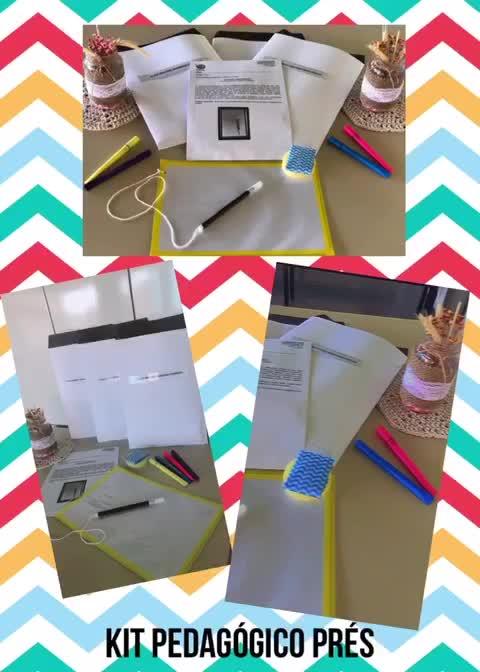 Kit Pedagógico Prés